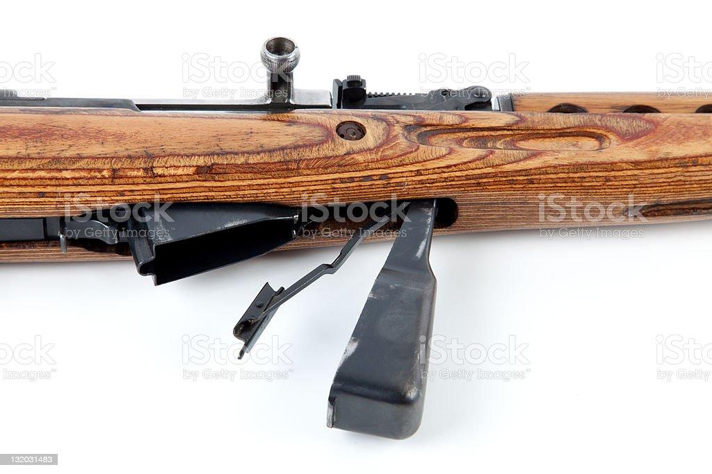 Rifle stock photo
