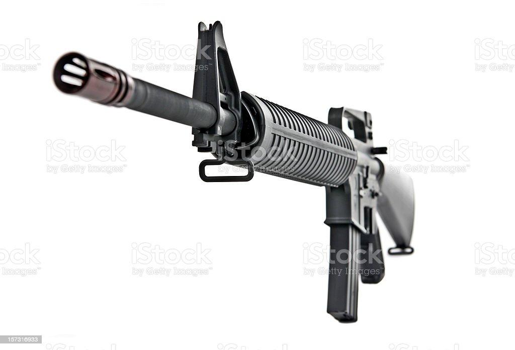 M16 Rifle royalty-free stock photo