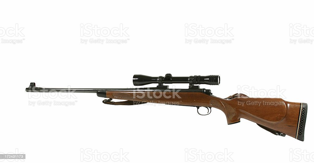 Rifle stock photo