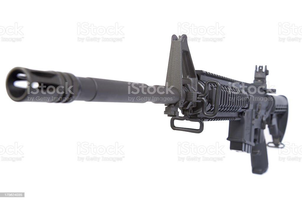AR-15 Rifle royalty-free stock photo