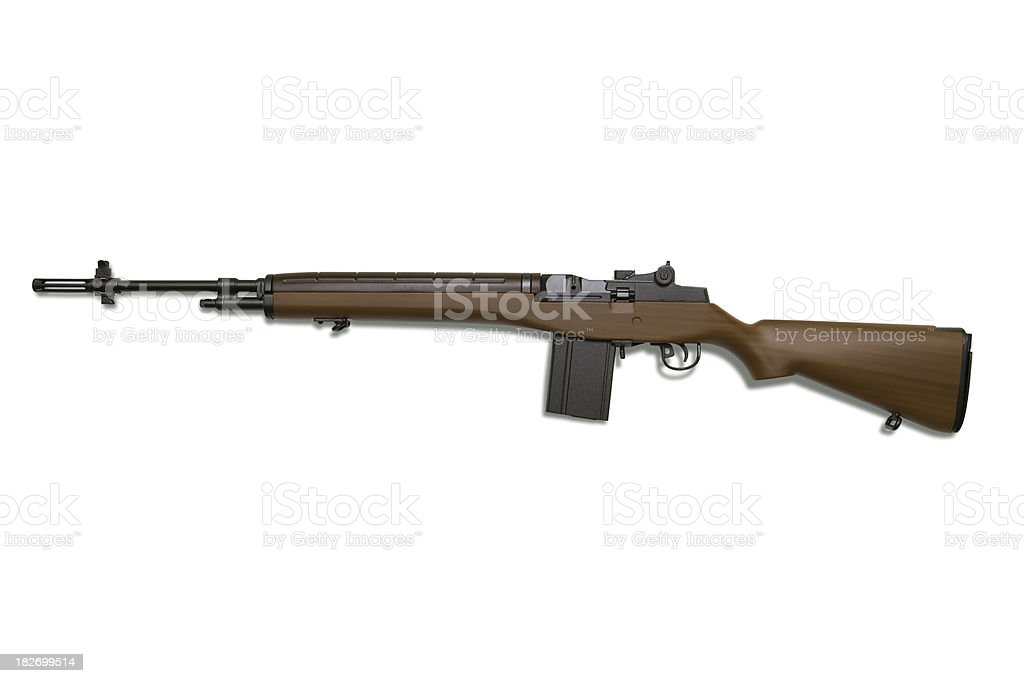M14 Rifle royalty-free stock photo