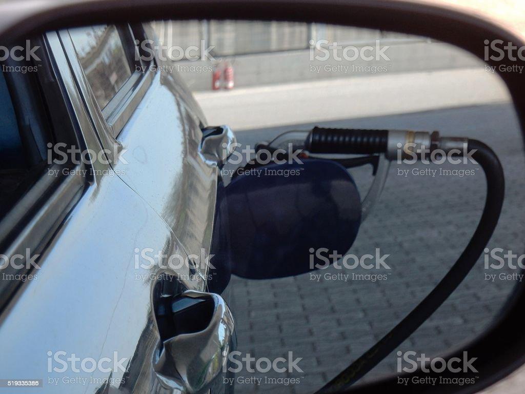Rifornimento carburante stock photo