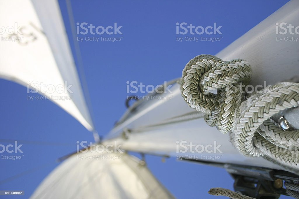 Rig and Rope (Close-up) stock photo