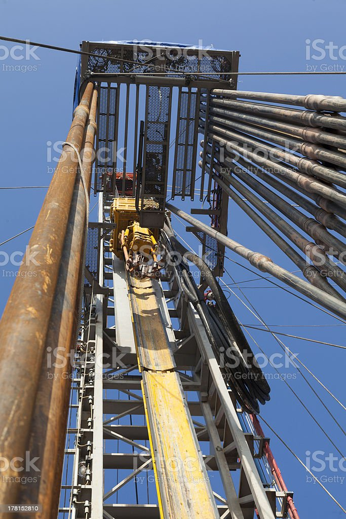 Rig station stock photo