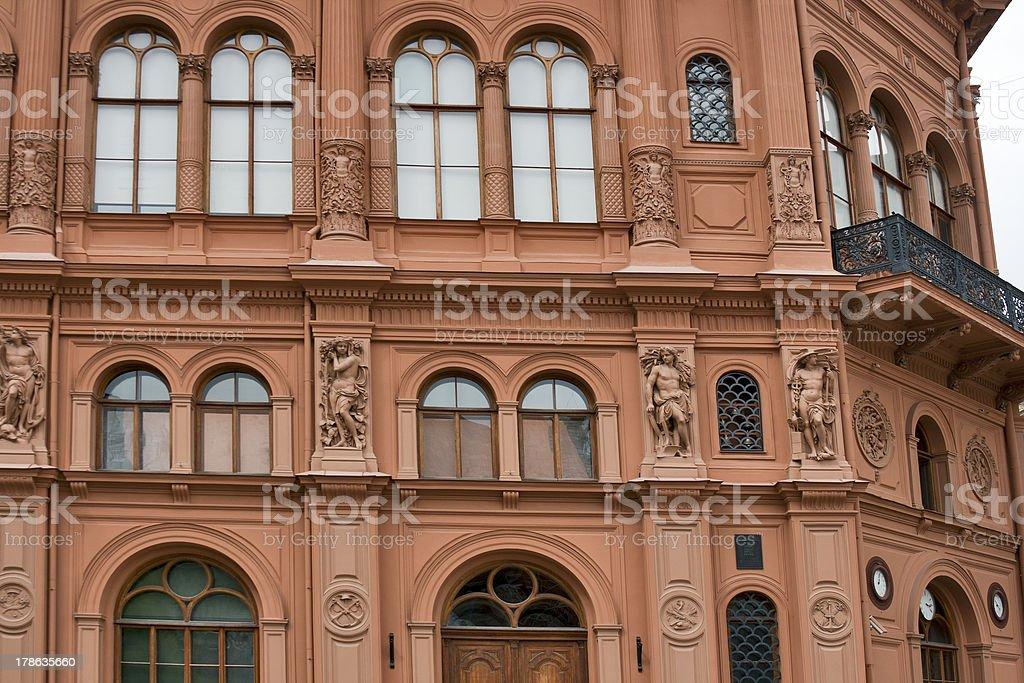 Riga architecture stock photo