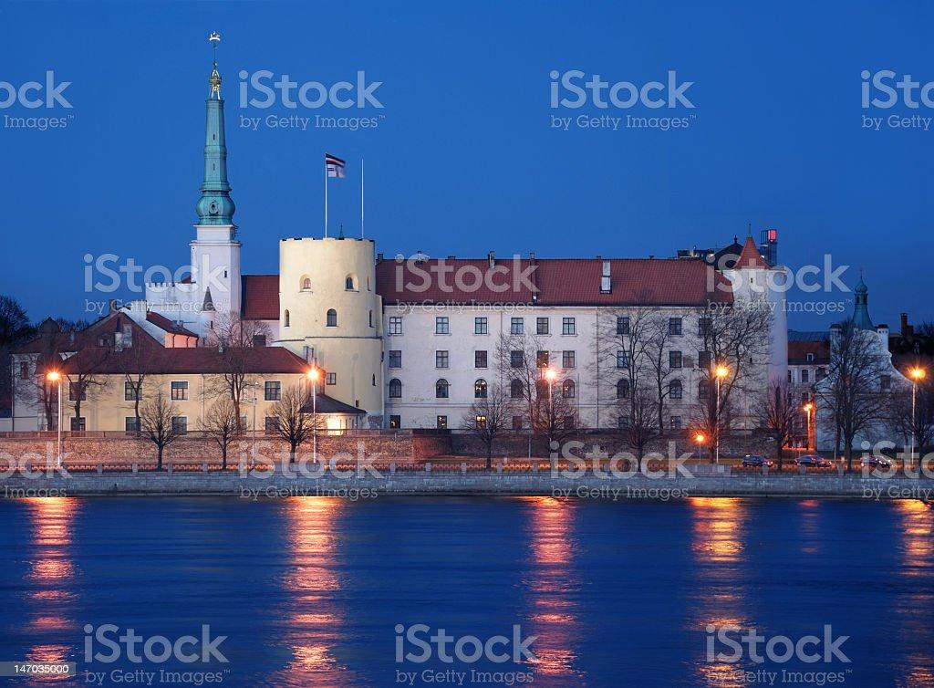 Riga Castle. stock photo