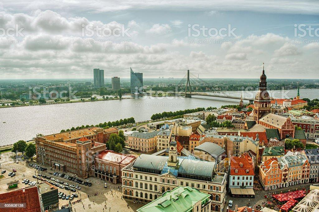Riga HDR stock photo