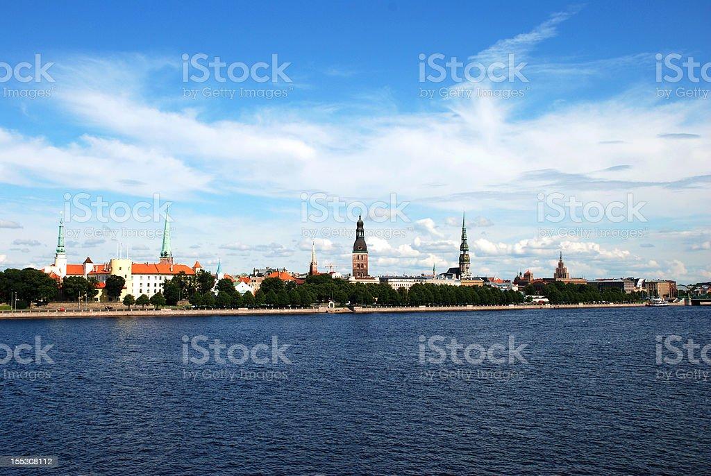 Riga, Latvia royalty-free stock photo