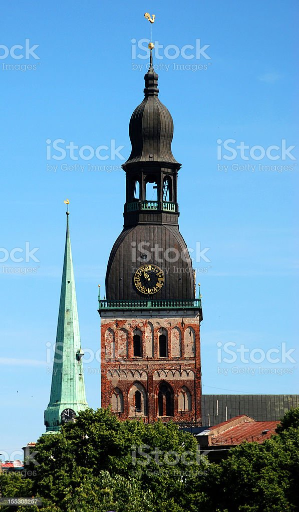 Riga Old Town royalty-free stock photo