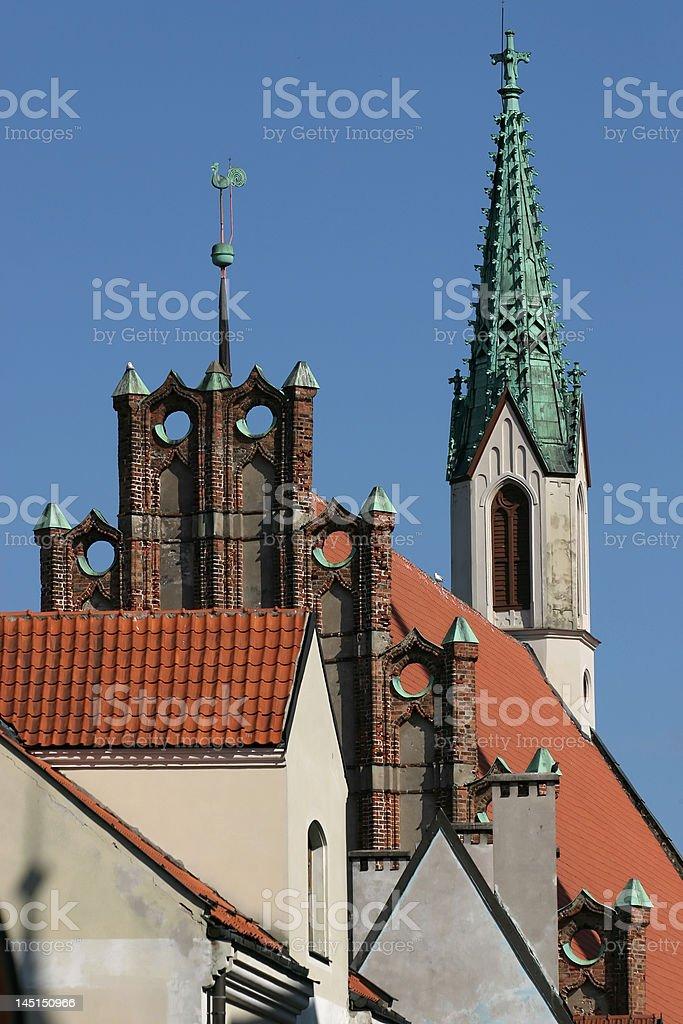 Riga roof royalty-free stock photo