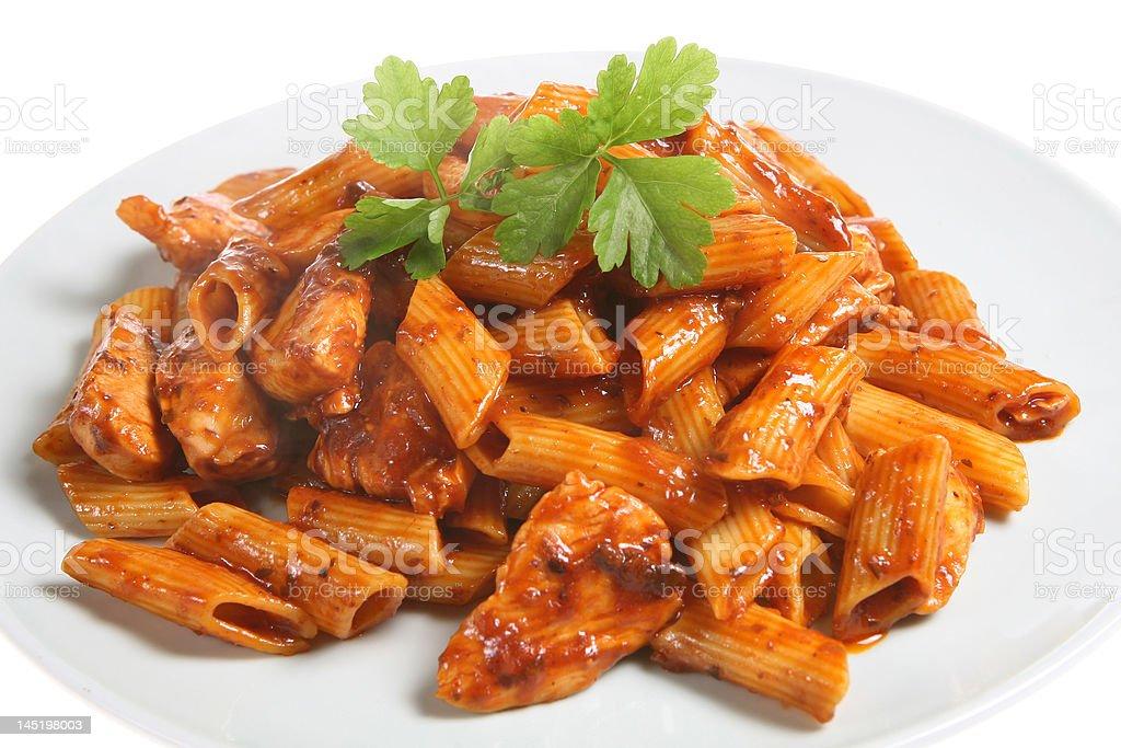 Rigatoni Pasta royalty-free stock photo