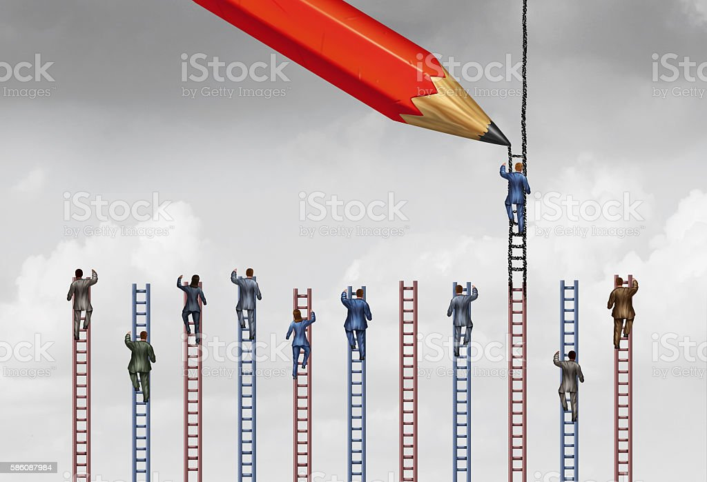 Rigged System stock photo