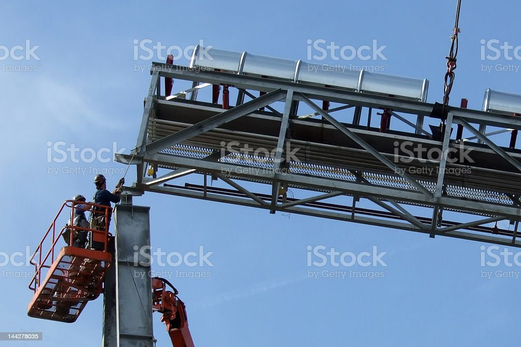 Rigging It In stock photo