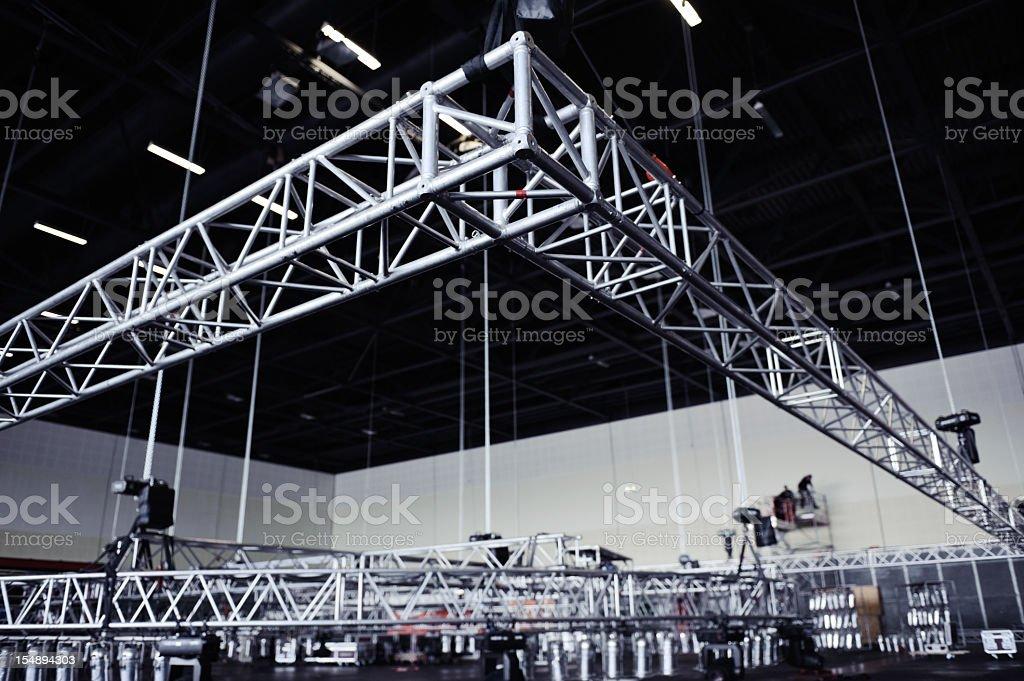 Rigging Truss stock photo