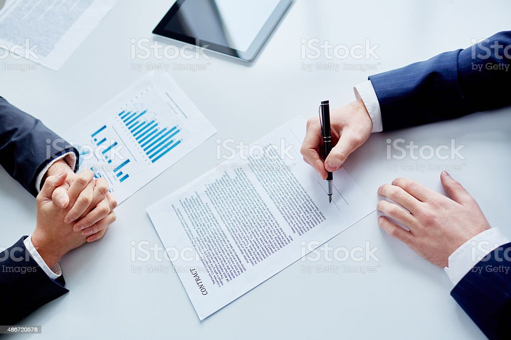 Right decision stock photo