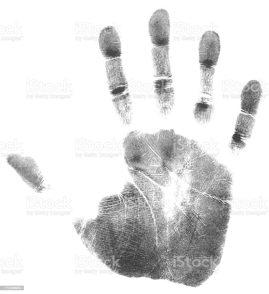 Right hand (51 MegaPixels) royalty-free stock photo