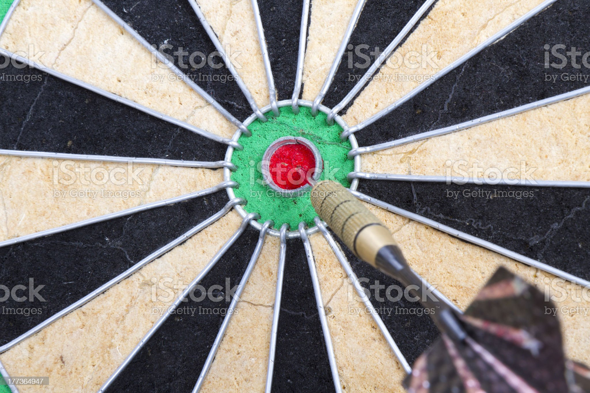 Right in target royalty-free stock photo