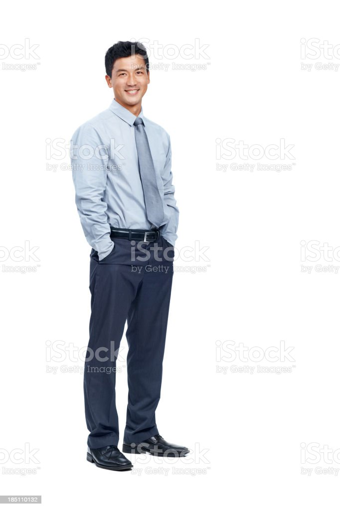 Right man for the job royalty-free stock photo