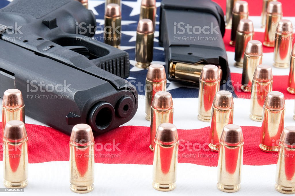 Right to Bear Arms Concept royalty-free stock photo