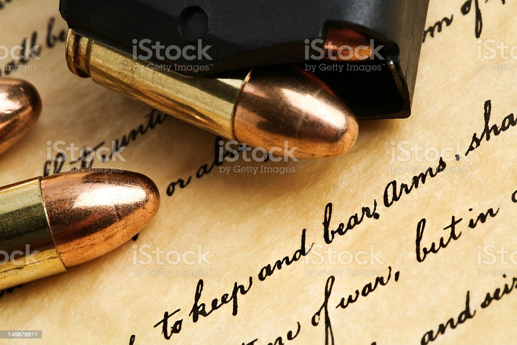 right to keep and bear arms royalty-free stock photo