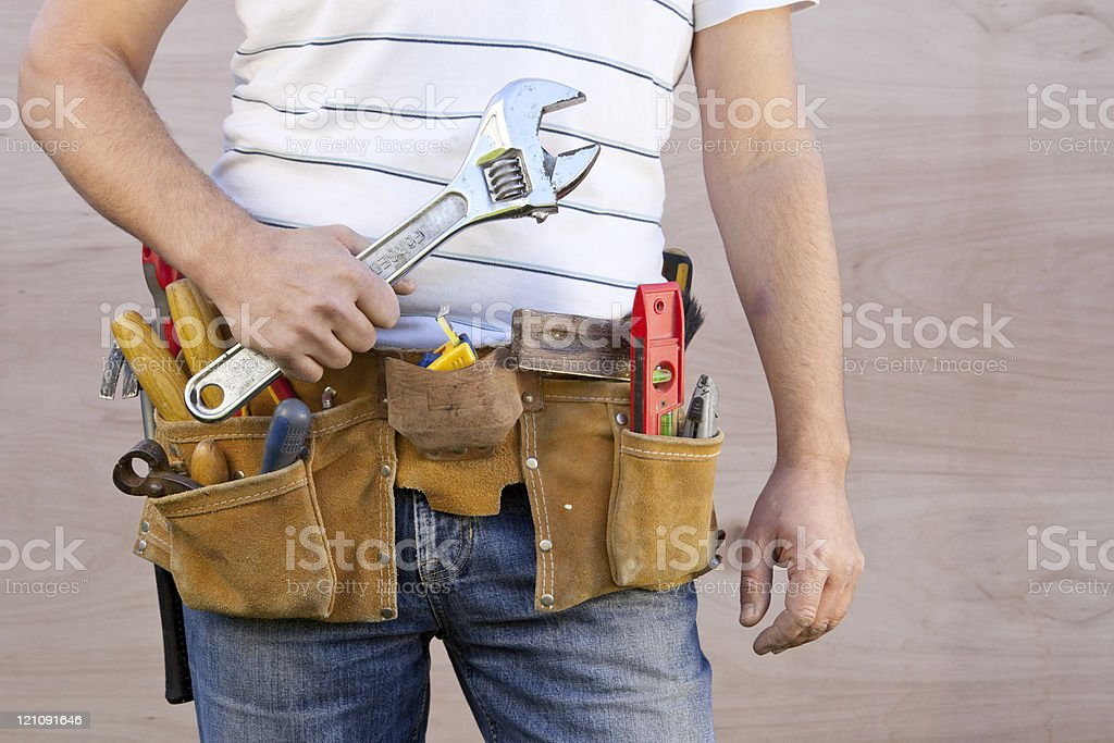 Right tool for the job royalty-free stock photo