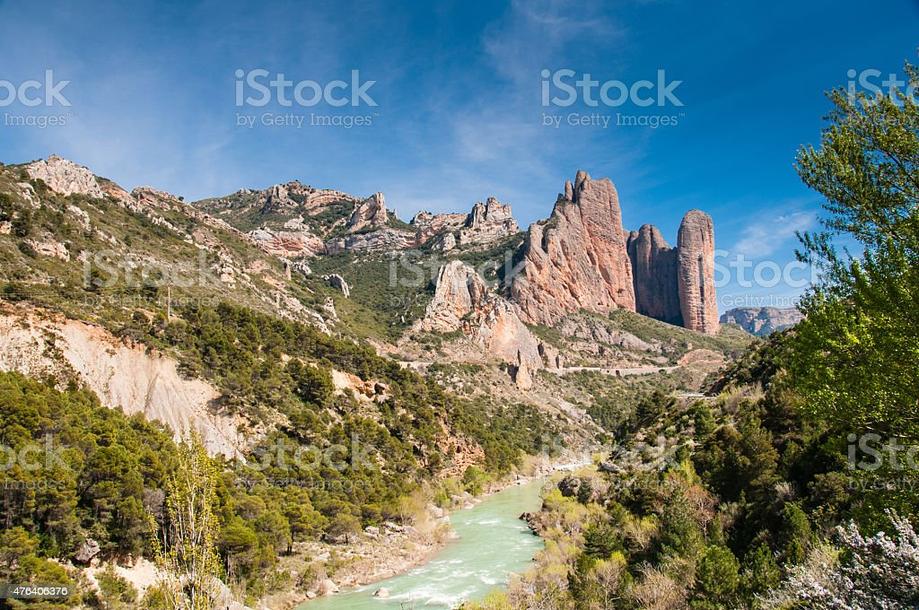 Riglos and Gallego stock photo