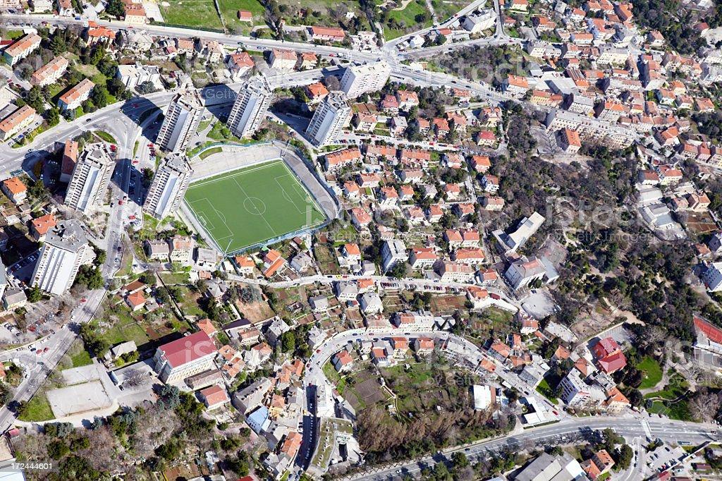 Rijeka City royalty-free stock photo
