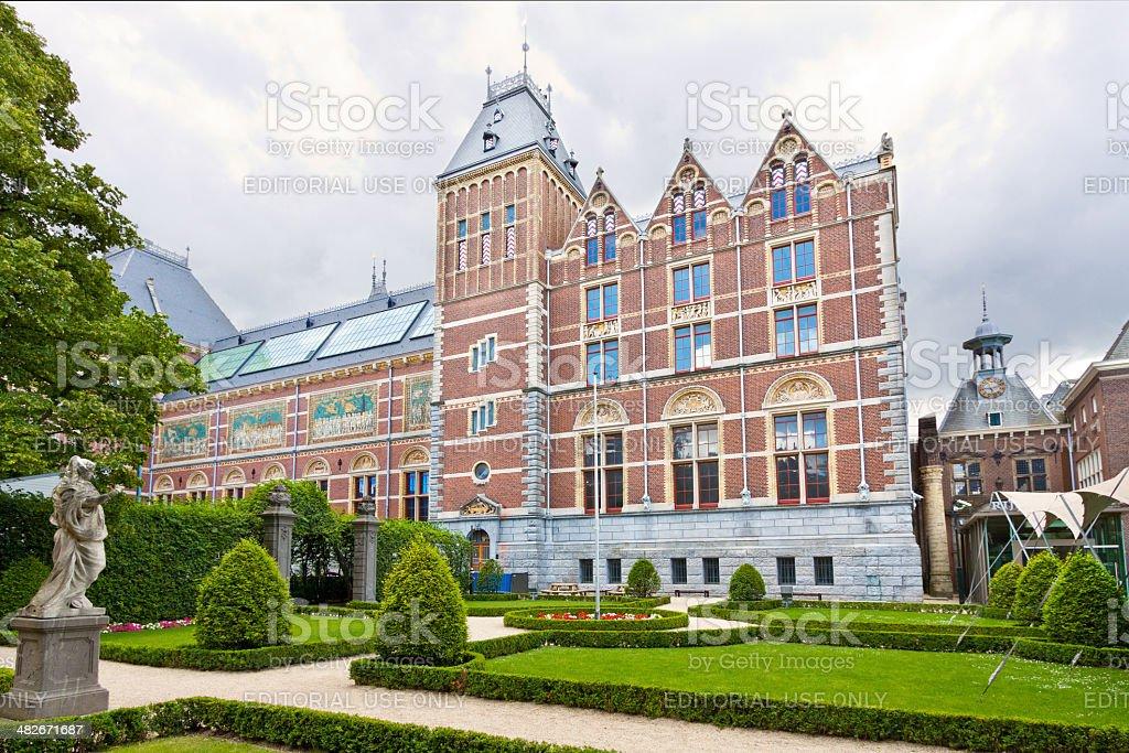 Rijksmuseum, Amsterdam. stock photo
