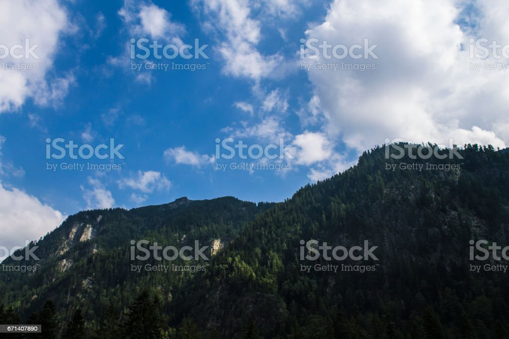 Rila Mountain Range stock photo
