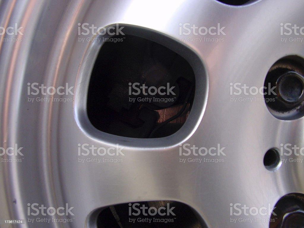 rim of a car 2 stock photo