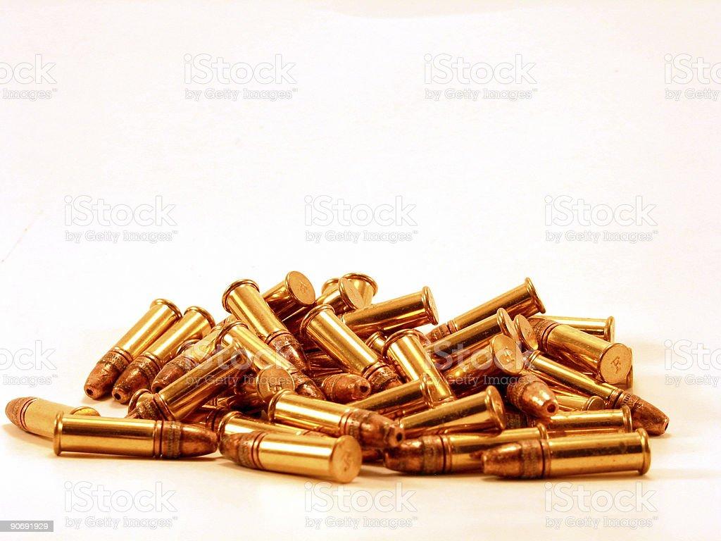 rimfire ammunition stock photo