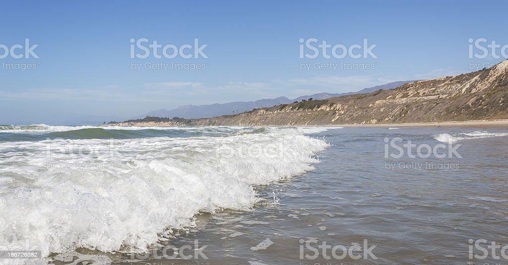 Rincon Surf stock photo