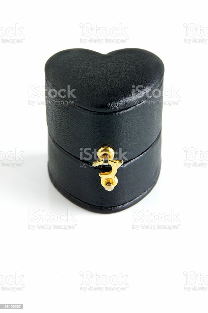 Ring Box royalty-free stock photo