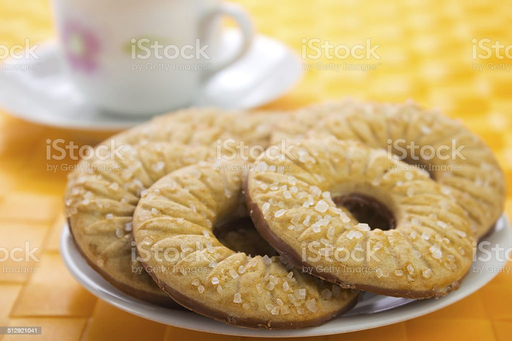 Ring cookies royalty-free stock photo