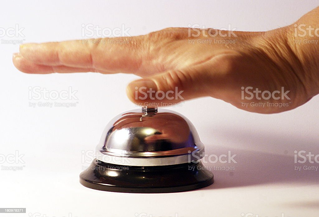Ring for Attention royalty-free stock photo