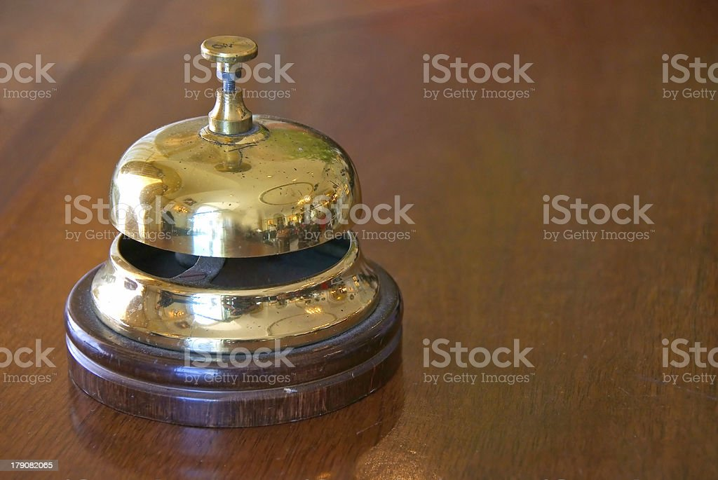 ring for service stock photo