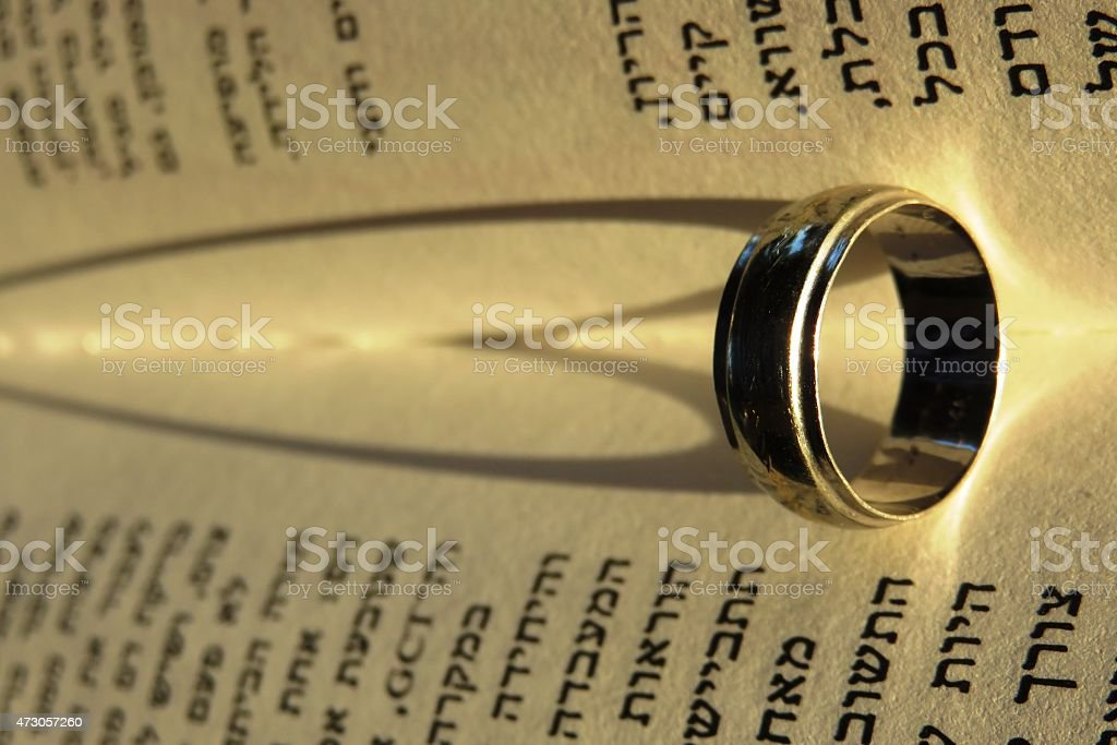 Ring, Heart, Bible stock photo