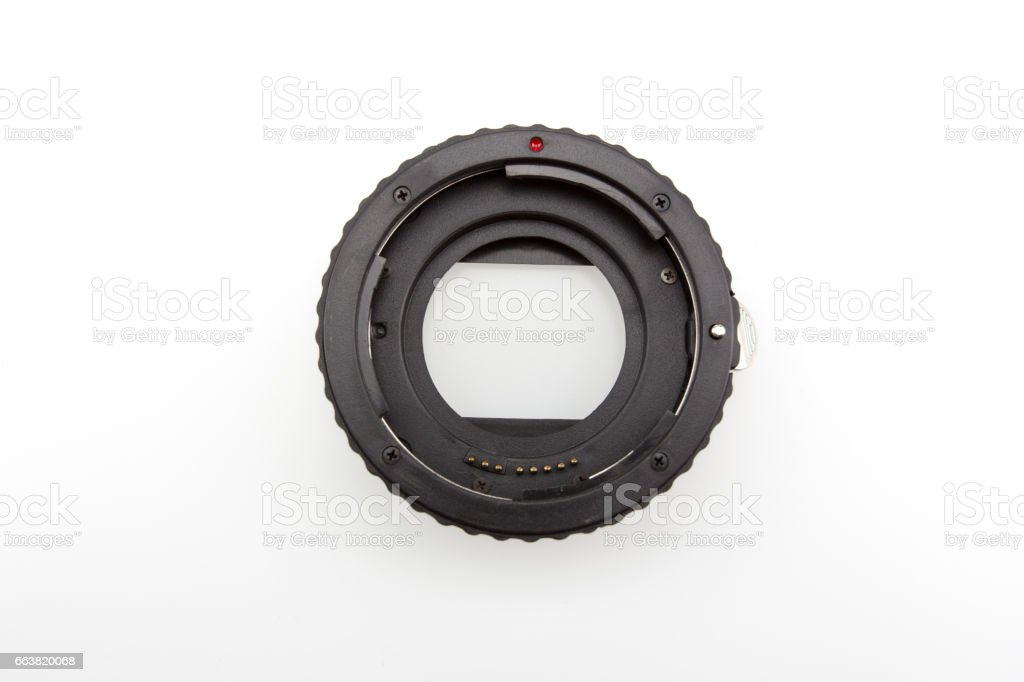 Ring Macro Extension Tube stock photo