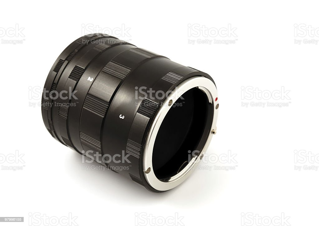 Ring Macro Extension Tube royalty-free stock photo