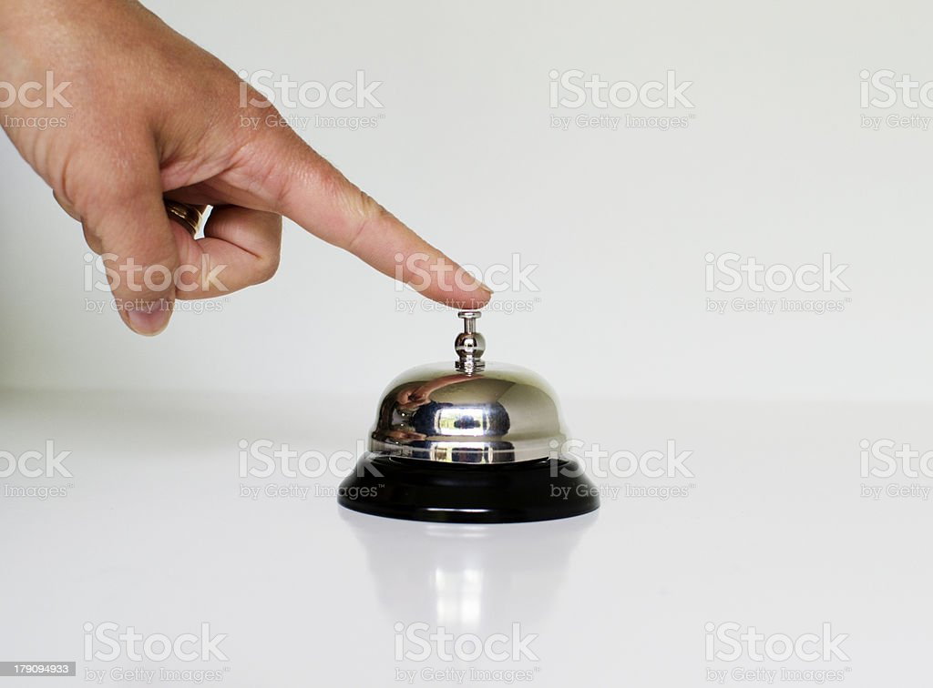 Ring my Bell royalty-free stock photo