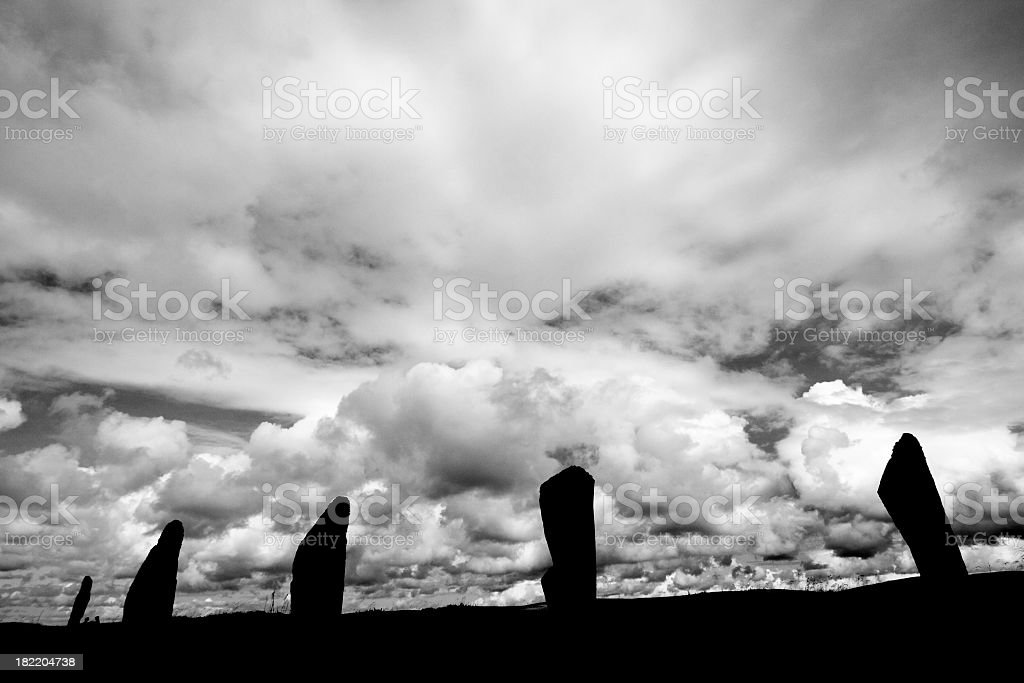 Ring of Brodgar royalty-free stock photo