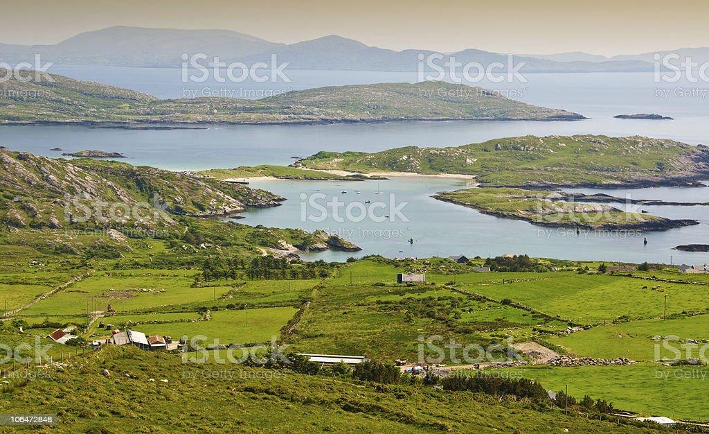 ring of kerry, ireland stock photo