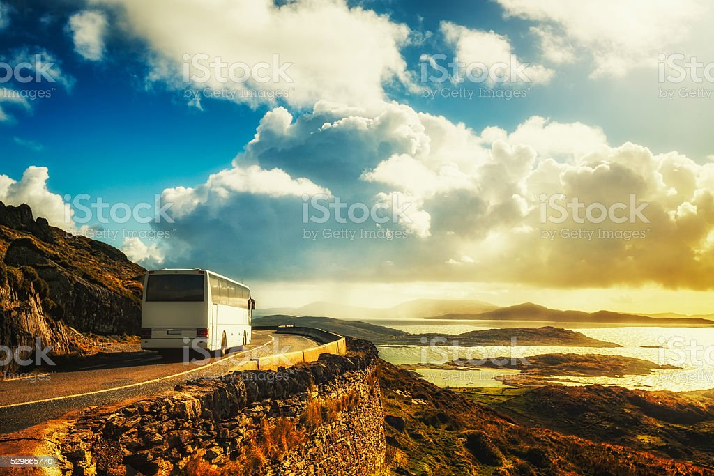 Ring of Kerry stock photo