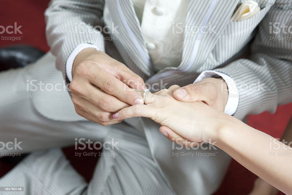 Ring of Love royalty-free stock photo