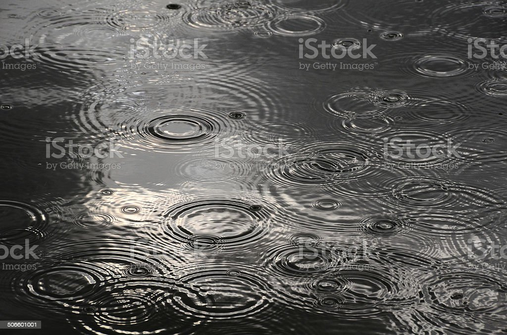 ring of water wave stock photo