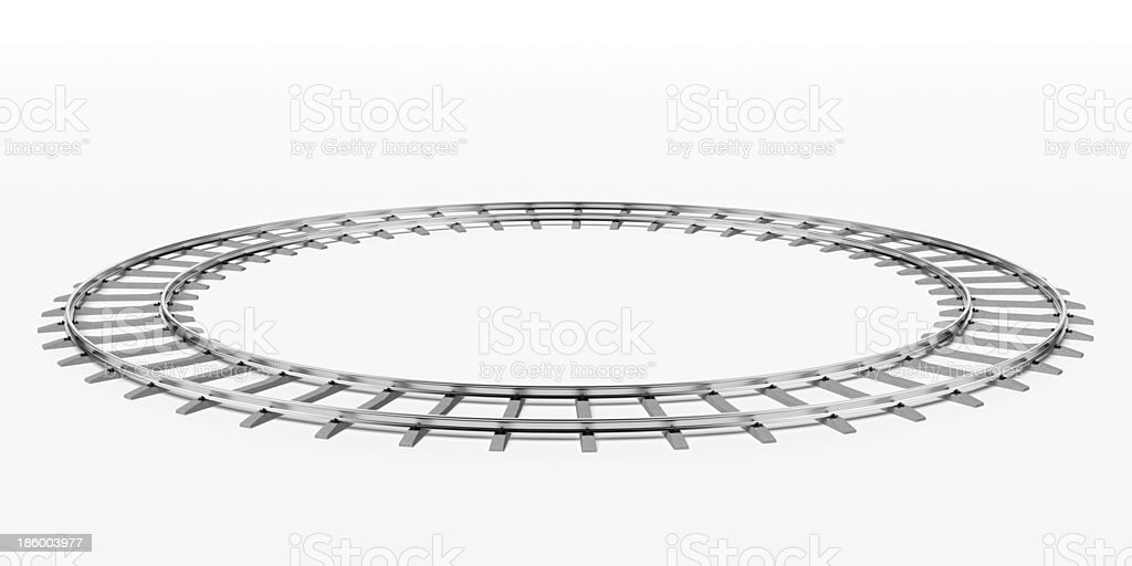 Ring railway royalty-free stock photo