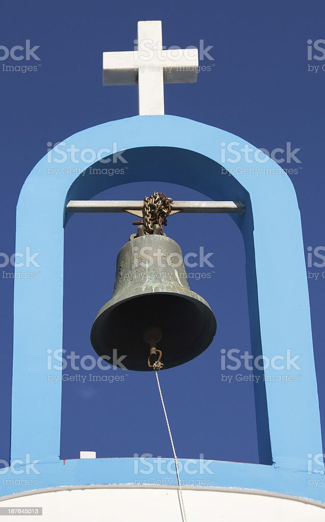 Ring the bell royalty-free stock photo