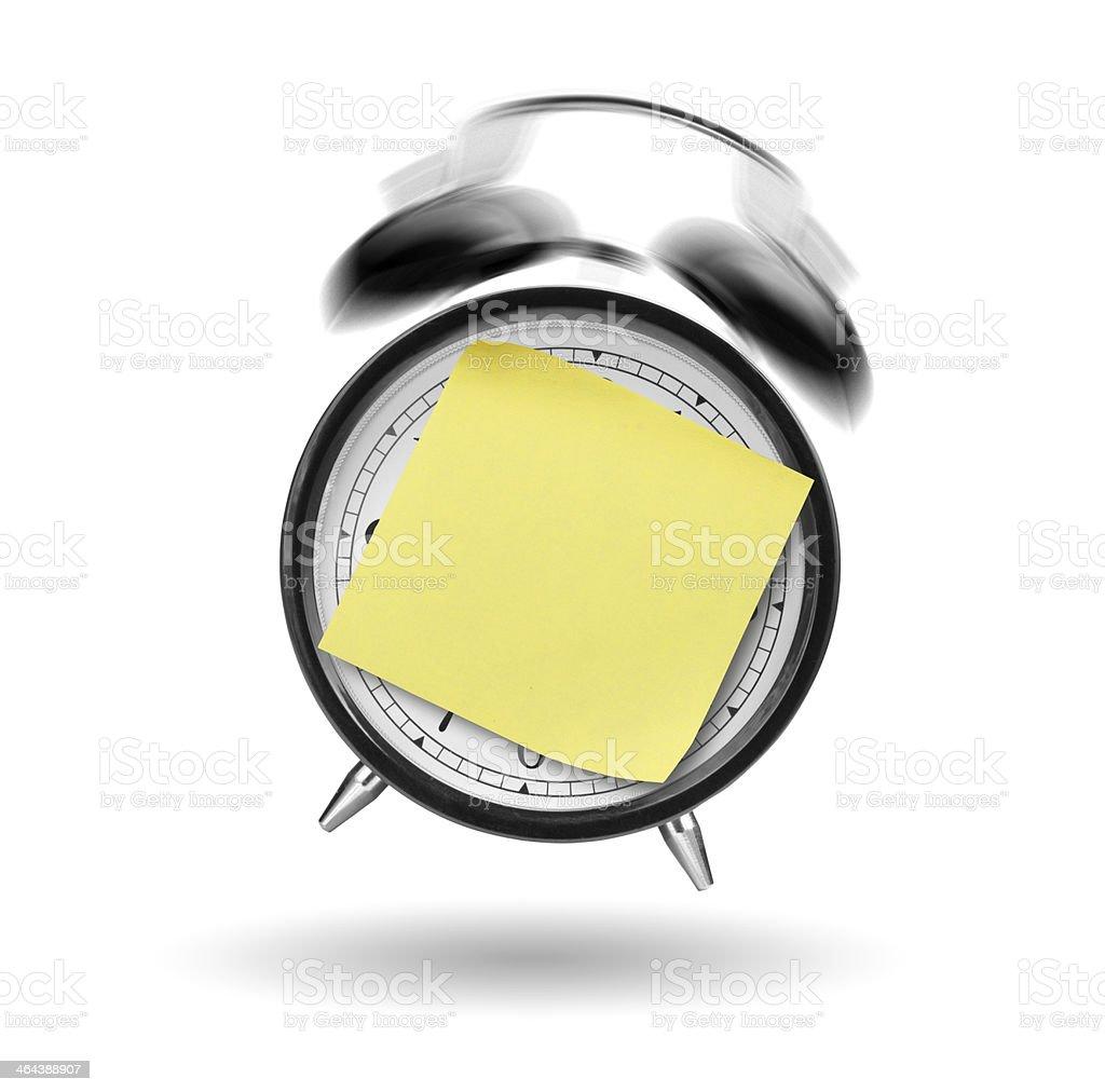 Ringing alarm clock royalty-free stock photo