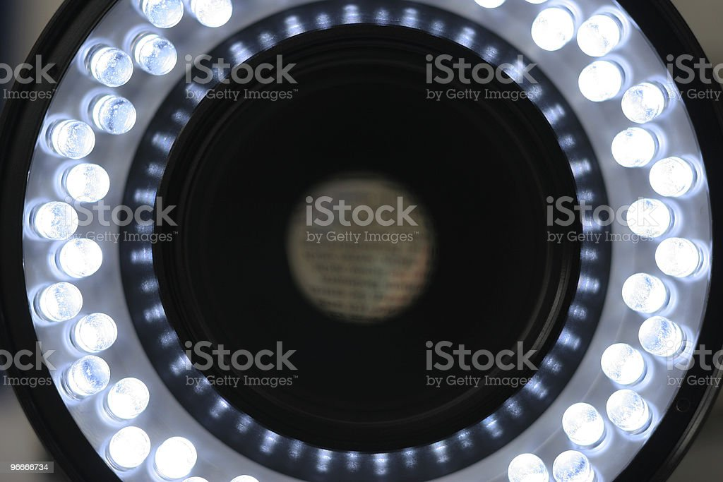 Ringlicht stock photo