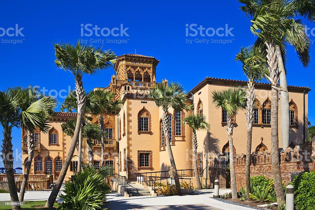 Ringling Mansion - Sarasota stock photo